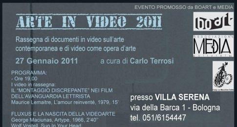 Arte in video 2011