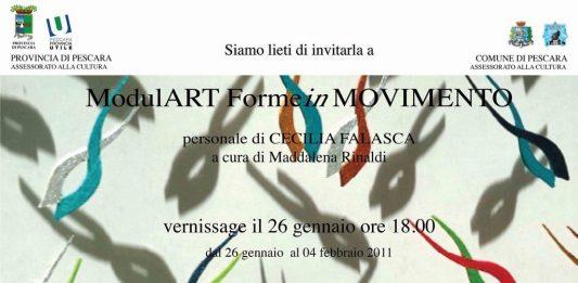 Cecilia Falasca – ModulArt Forme in Movimento