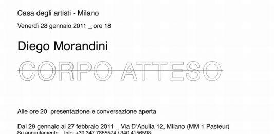 Diego Morandini – Corpo atteso