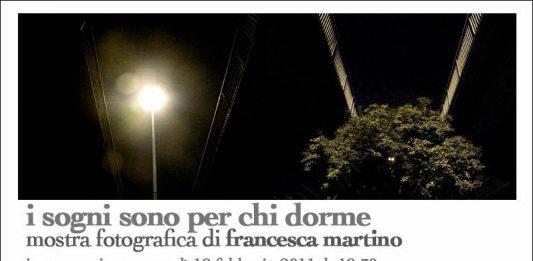 Francesca Martino – I sogni sono per chi dorme