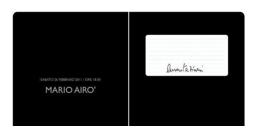 Mario Airò – Annotazioni