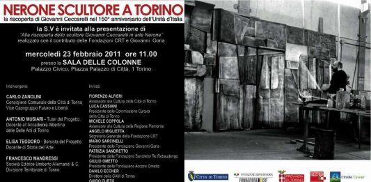 Nerone scultore a Torino. Una scoperta