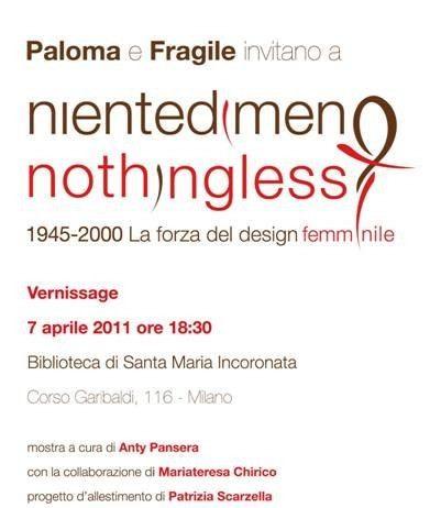 Nientedimeno/Nothing Less