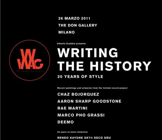 Writing the history