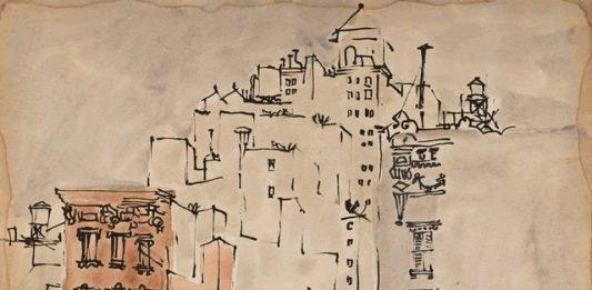 Costantino Nivola – Seguo la traccia nera e sottile