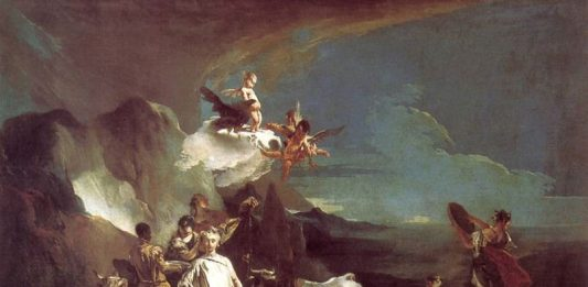 Giambattista Tiepolo – Il giovane Tiepolo. La scoperta della luce