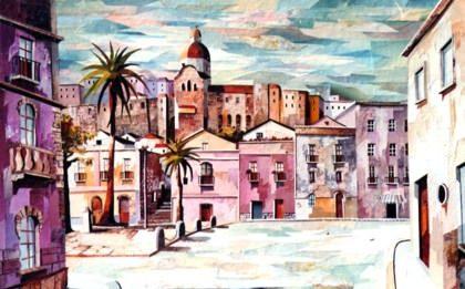 Colori e luci su Cagliari e non solo…