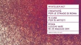 Creatività per le strade di Roma. 15 Cubi per 15 Artisti