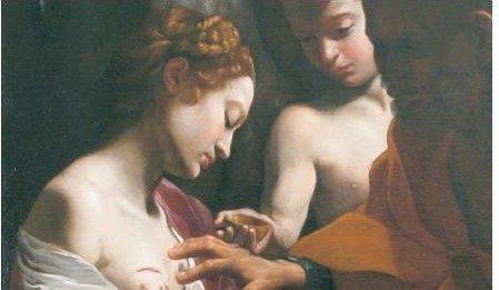 Effetto notte. Sant'Agata risanata. Due dipinti di Lanfranco a confronto