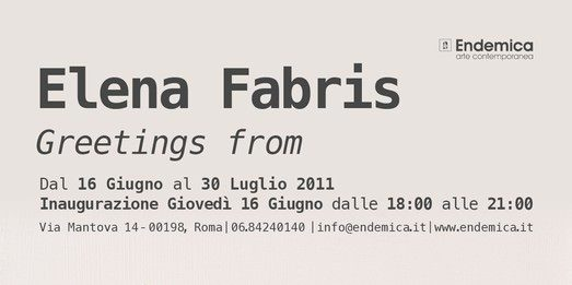 Elena Fabris – Greetings from