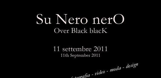 Su nero nero. Over black  black