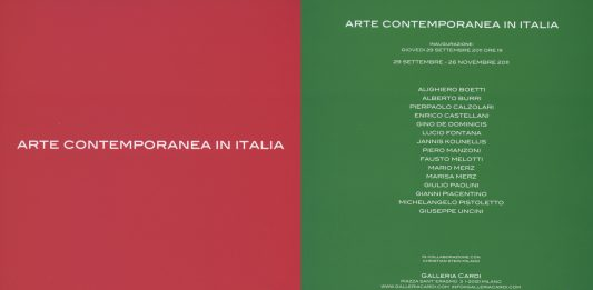 Arte Contemporanea in Italia