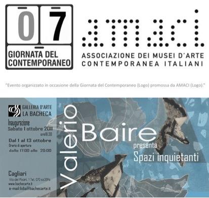 Valerio Baire – Spazi inquietanti
