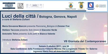 Luci della Città: Bologna, Genova, Napoli