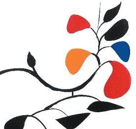 """Alexander Calder – litografie da """"Derrière le Miroir"""""""