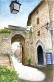 Claudio Fronza – Vie, vicoli e piazze di Assisi 2011