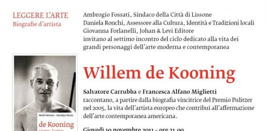 Leggere l'arte. Biografie d'artista: Willem de Kooning
