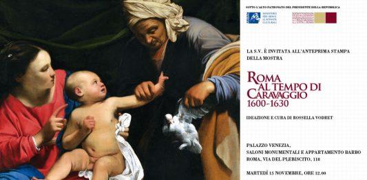 Roma al tempo di Caravaggio 1600-1630