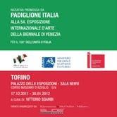 54° Biennale di Venezia, padiglione Italia