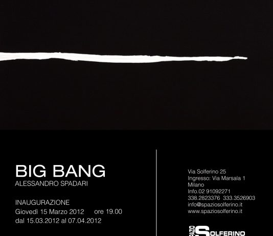 Alessandro Spadari – Big Bang