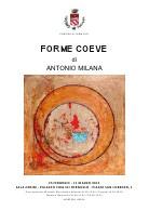 Antonio Milana – Forme Coeve