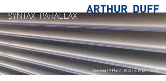 Arthur Duff – Syntax Parallax