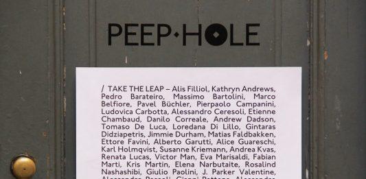 Take The Leap. Peep-Hole Annual Benefit