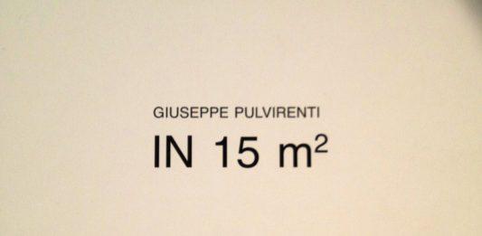 Giuseppe Pulvirenti – In 15 m²