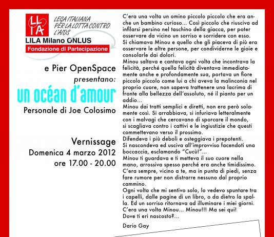 Joe Colosimo – Un ocean d'amour