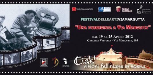 Ciak visioni Felliniane in scena.  Una passeggiata a Via Margutta