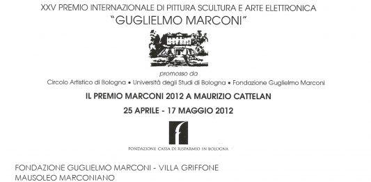 Mostra degli artisti insigniti del Premio G. Marconi dal 1988 al 2012