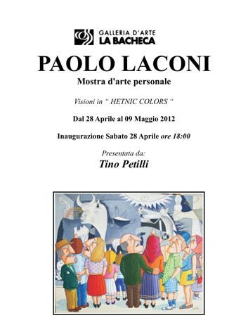 "Paolo Laconi – Visioni in ""Hetnic colors"""