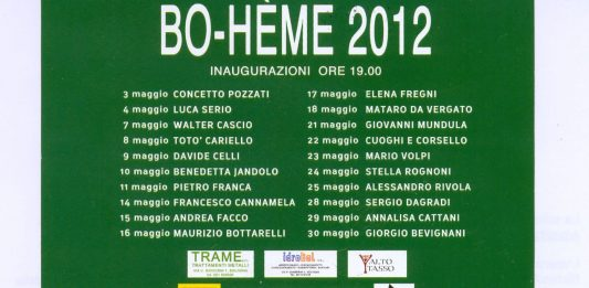 Bo-hème 2012_ Alessandro Rivola
