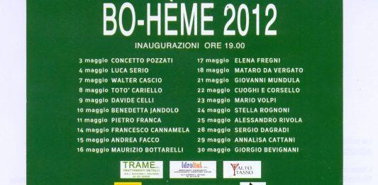 Bo-hème 2012_ Cuoghi e Corsello
