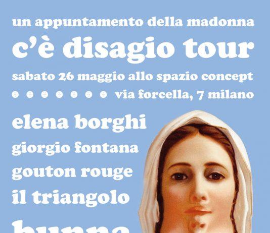 C'è disagio tour 2012