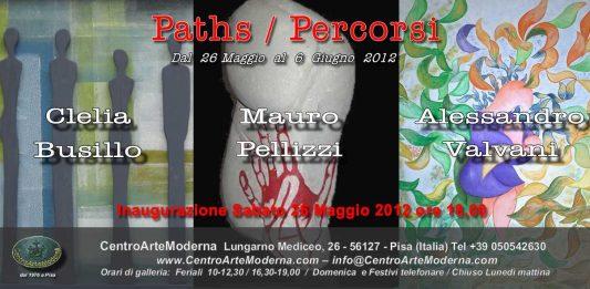 Clelia Busillo / Mauro Pellizzi / Alessandro Valvani – Paths. Percorsi