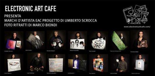 MARCHI EAC D'ARTISTA 50 artisti x 50 marchi x 50 foto ritratti