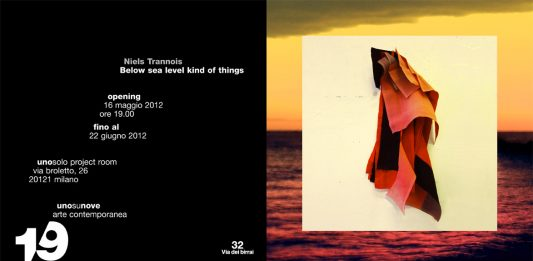 Niels Trannois – Below sea level kind of things