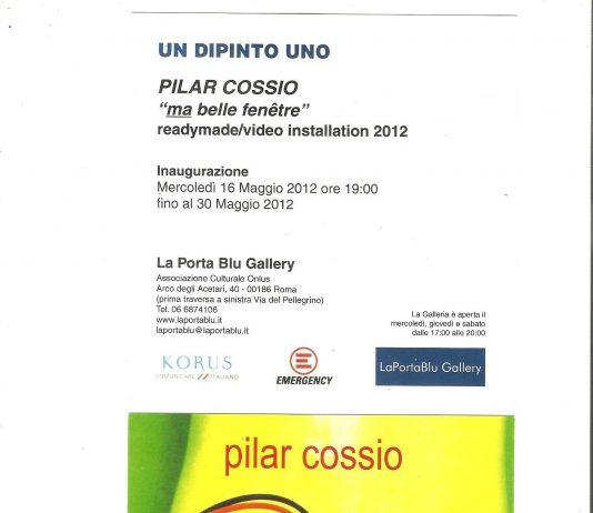 Pilar Cossío – Ma belle fenetre