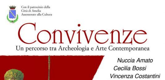 Convivenze. Un percorso tra archeologia e arte contemporanea