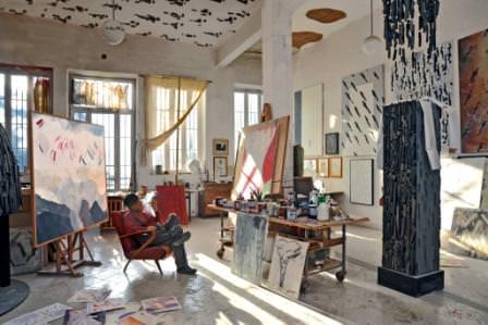 Lo spazio e l'artista