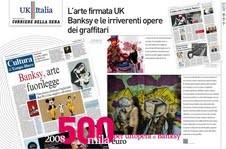 UK-ITALIA nelle pagine del Corriere della Sera