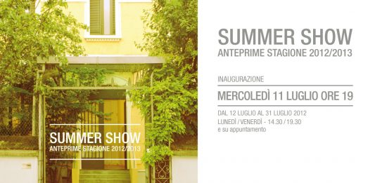 Summer Show. Anteprime Stagione 2012/2013