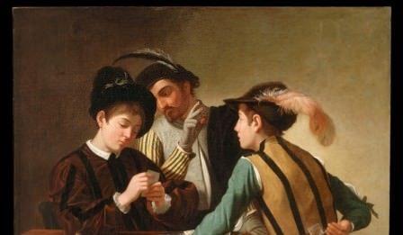 I Bari a confronto. Il giovane Caravaggio  nella casa del cardinale Francesco Maria del Monte