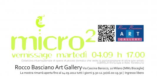 micro² | Collettiva internazionale di opere di piccolo formato