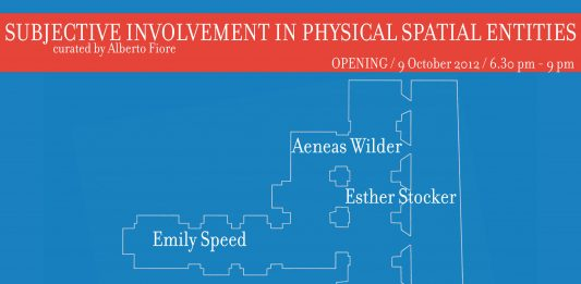 SUBJECTIVE INVOLVEMENT IN PHYSICAL SPATIAL ENTITIES