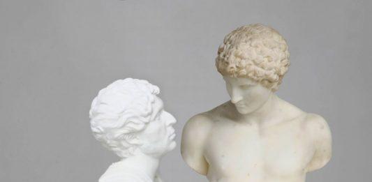 Francesco Vezzoli   – Self-portrait as Hemperor Hadrian Loving Antinous