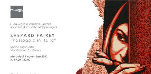 Inaugurazione + mostra di Shepard Fairey