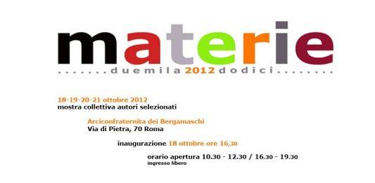 Materie 2012