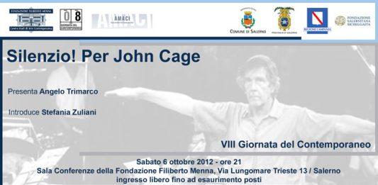 Silenzio! Per John Cage